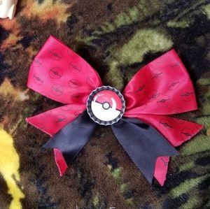 Pokemon Hair Bow